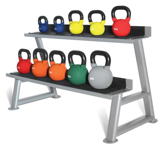 Coloured Neoprene Kettlebell Set