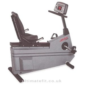 Life Fitness Lifecycle 9500hrt Recumbent Cycle Reconditioned