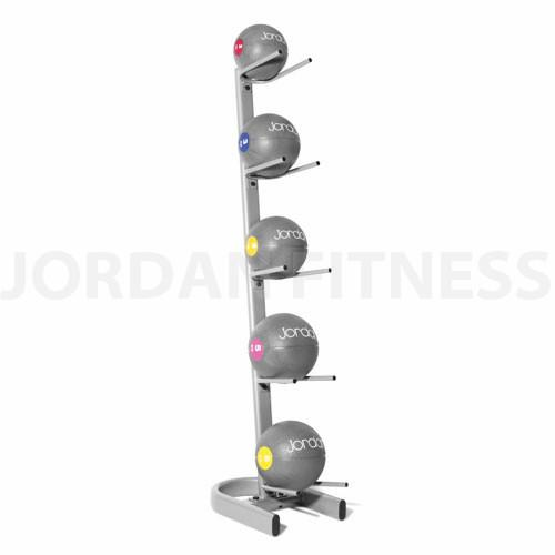 Medicine-Ball-Rack—Silver-oval-frame-holds-5-balls_1_grande