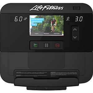 Life Fitness Integrity Series Elliptical Cross-Trainer Sc Console